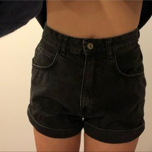 Zara high wasted mom shorts !